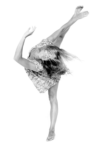 Addy Vaughn, dancer and model at headnod talent agency