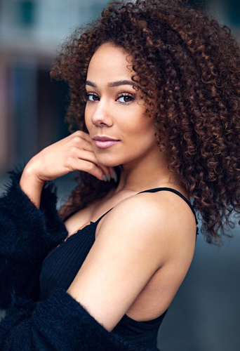 Carmelle Rudder, dancer, singer and model at headnod talent agency