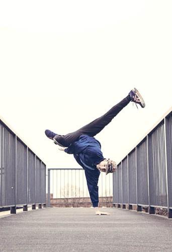 Jai Hickling, dancer at HeadNod talent agency