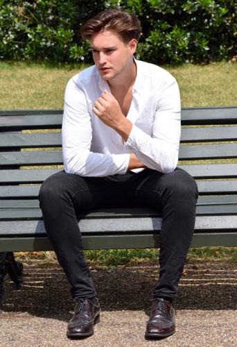 Luke Fieldwright, dancer and model at headnod talent agency
