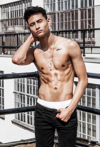 Benji Colson, dancer and model at headnod talent agency