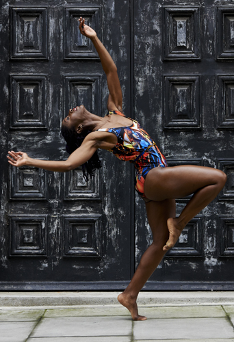 Ama Rouge, dancer at headnod talent agency