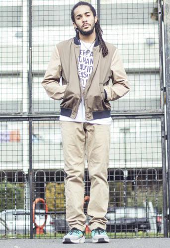 Kieran Warner, dancer and model at headnod talent agency