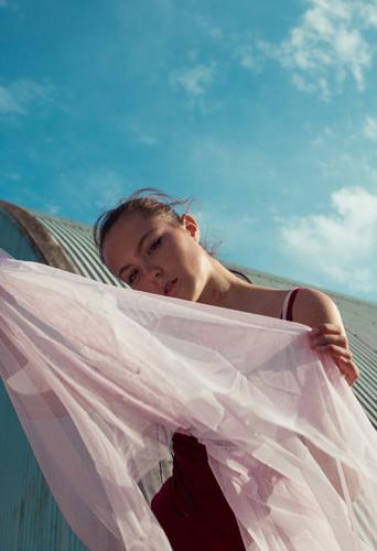 Claudia Maybury, dancer and model at headnod talent agency