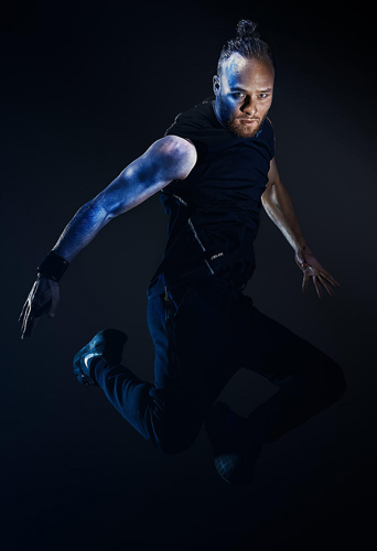 Wouter Ten Hag, dancer at headnod talent agency